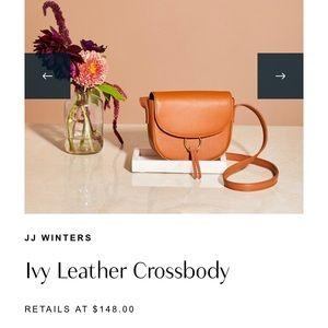 JJ Winters Ivy Leather Crossbody RZ Box of Style